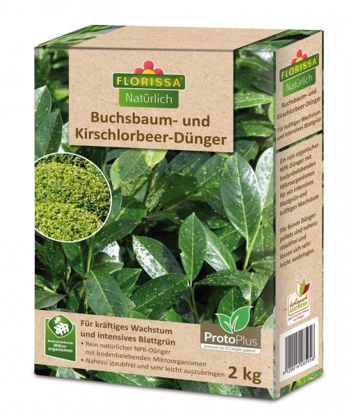Buchsbaum- und Kirschlorbeer-Dünger