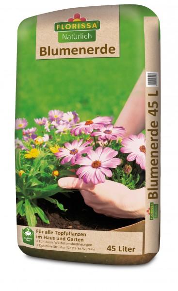 Natürlich-Blumenerde