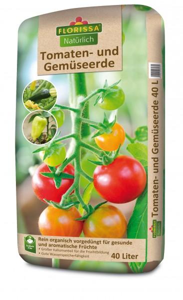 Tomaten- und Gemüseerde