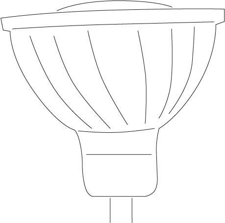 LED GU 5.3-5W